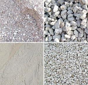 arena triturada